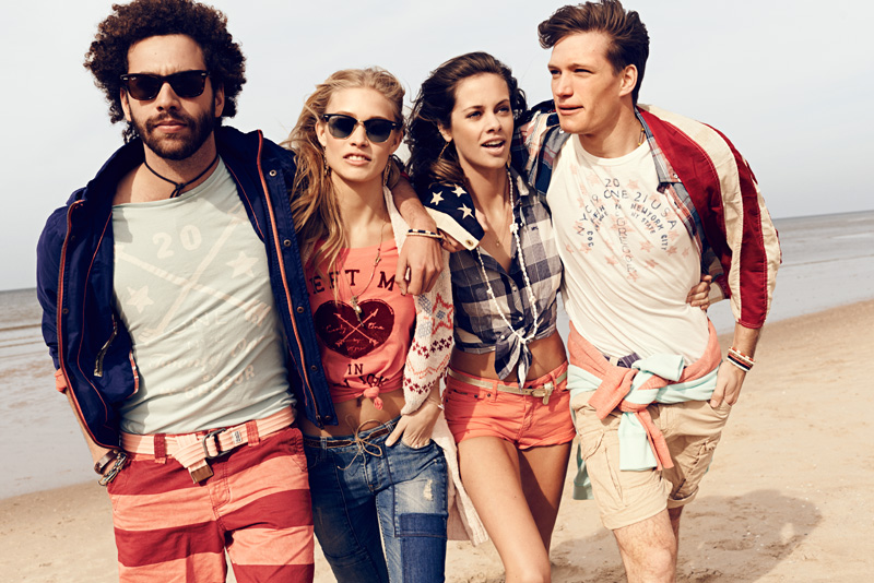 Twenty One by McGregor Denim Kollektion 2014 – Preppy Vintage Mode für den Sommer